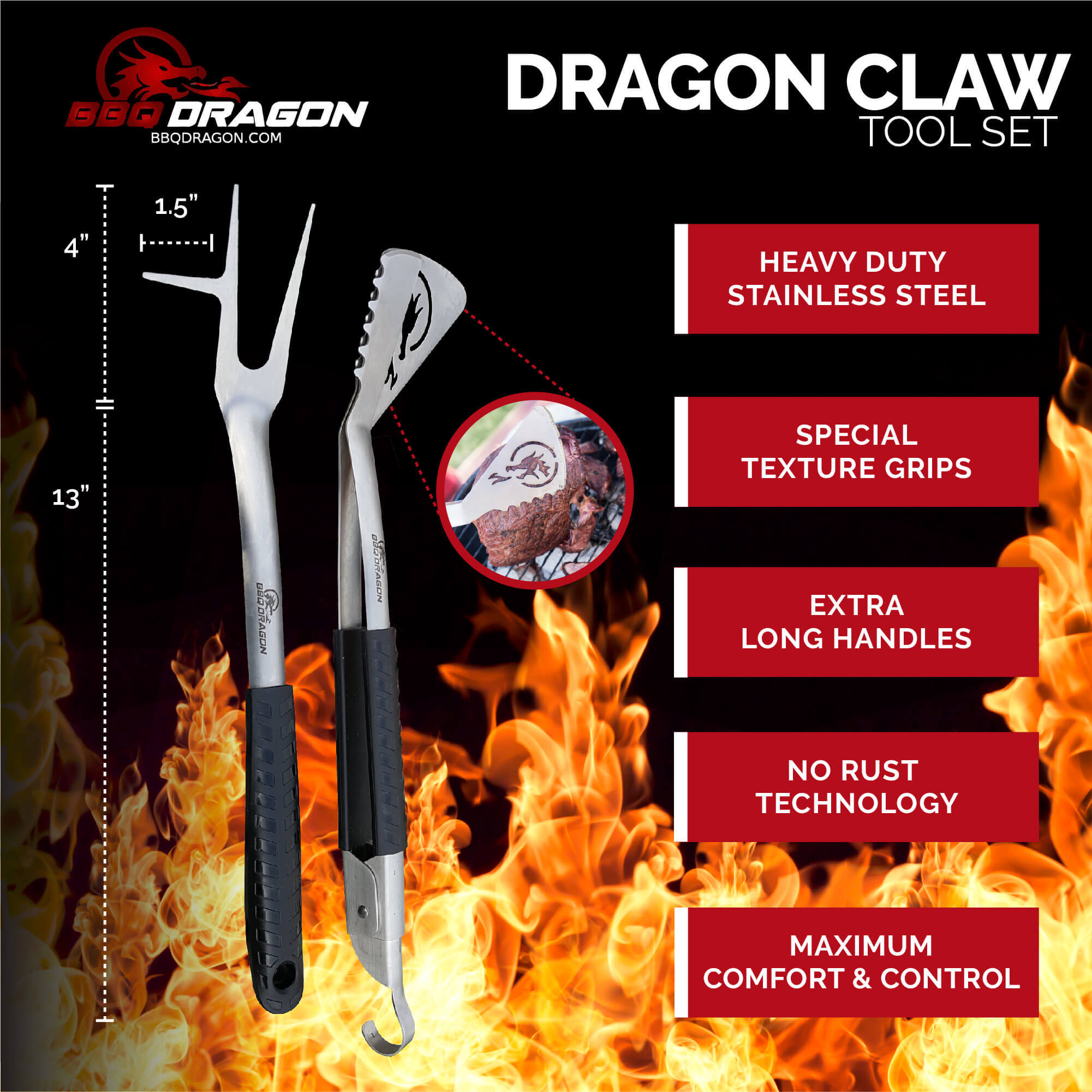 dragon bbq claw