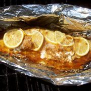 Grilled Fish by The Deck Chef