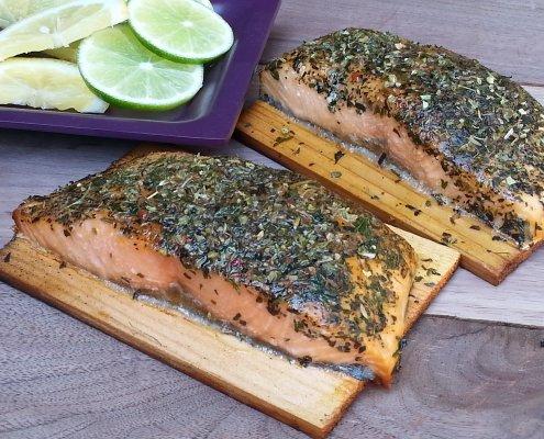 Kent Whitaker Grilled Salmon