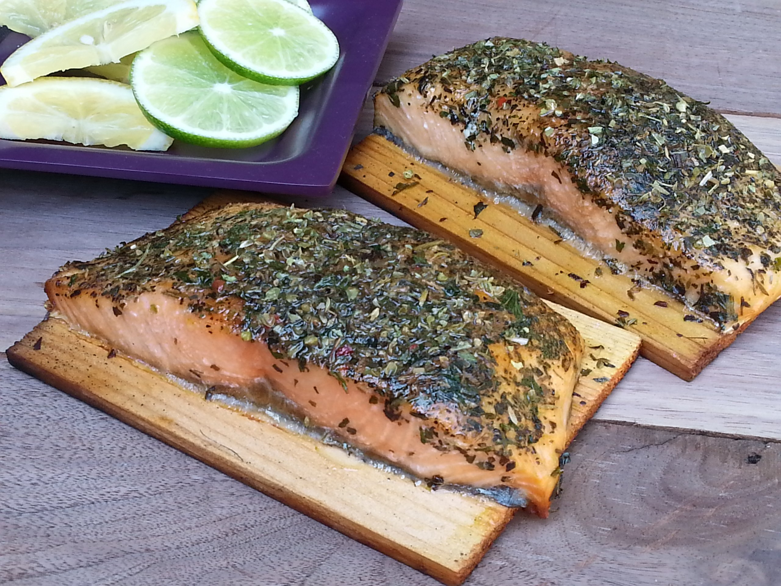 Kent Whitaker Grilled Salmon